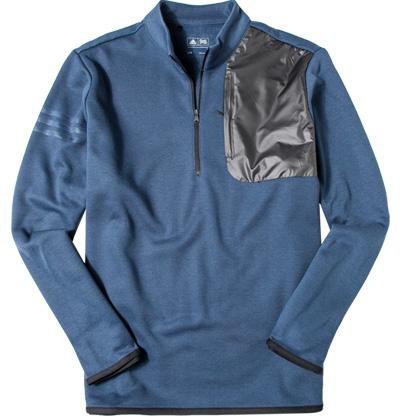 Zip-Shirt blue