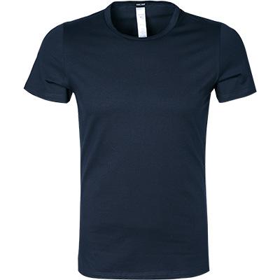 Classic T Shirt Baumwolle Marineblau Von Hom Bei