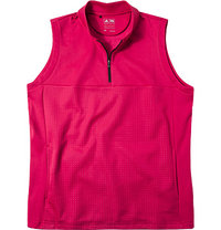 adidas Golf Zip-Shirt pink