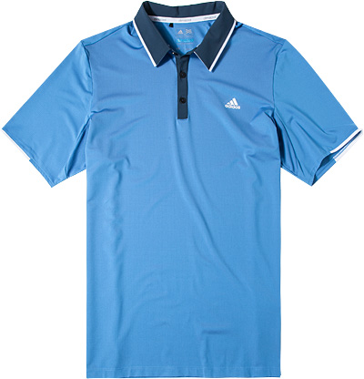 adidas Golf Polo-Shirt blue AF0374
