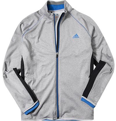 Zip-Jacke grey