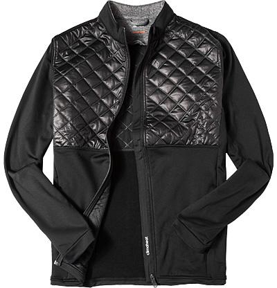 Zip-Jacke black