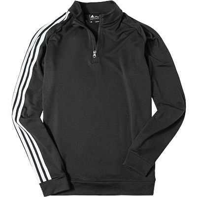 Zip-Shirt black