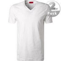 HUGO V-Shirt 2er Pack