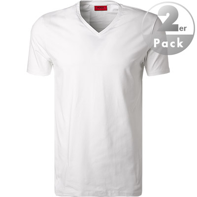 HUGO V-Shirt 2er Pack 50325417/100