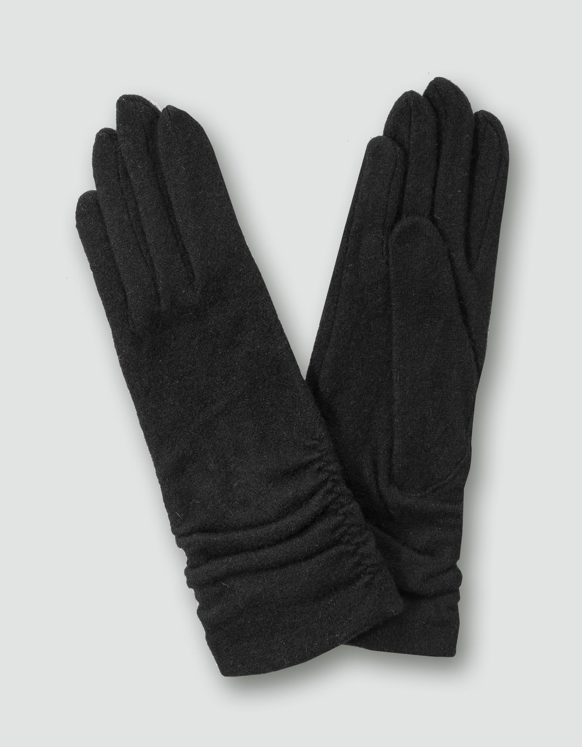 roeckl damen handschuhe in leicht gewalkter optik. Black Bedroom Furniture Sets. Home Design Ideas