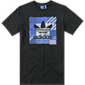 adidas ORIGINALS T-Shirt black AZ1028