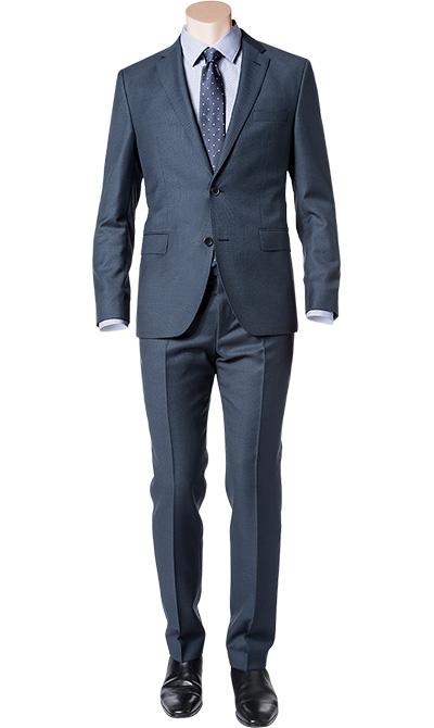 hugo boss anzug jewels linus in blau. Black Bedroom Furniture Sets. Home Design Ideas