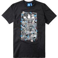 adidas ORIGINALS T-Shirt black