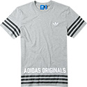 adidas ORIGINALS T-Shirt medium grey AZ1140