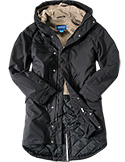 adidas ORIGINALS Parka black AY9140
