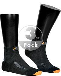 X-SOCKS Run Discovery 3er Pack