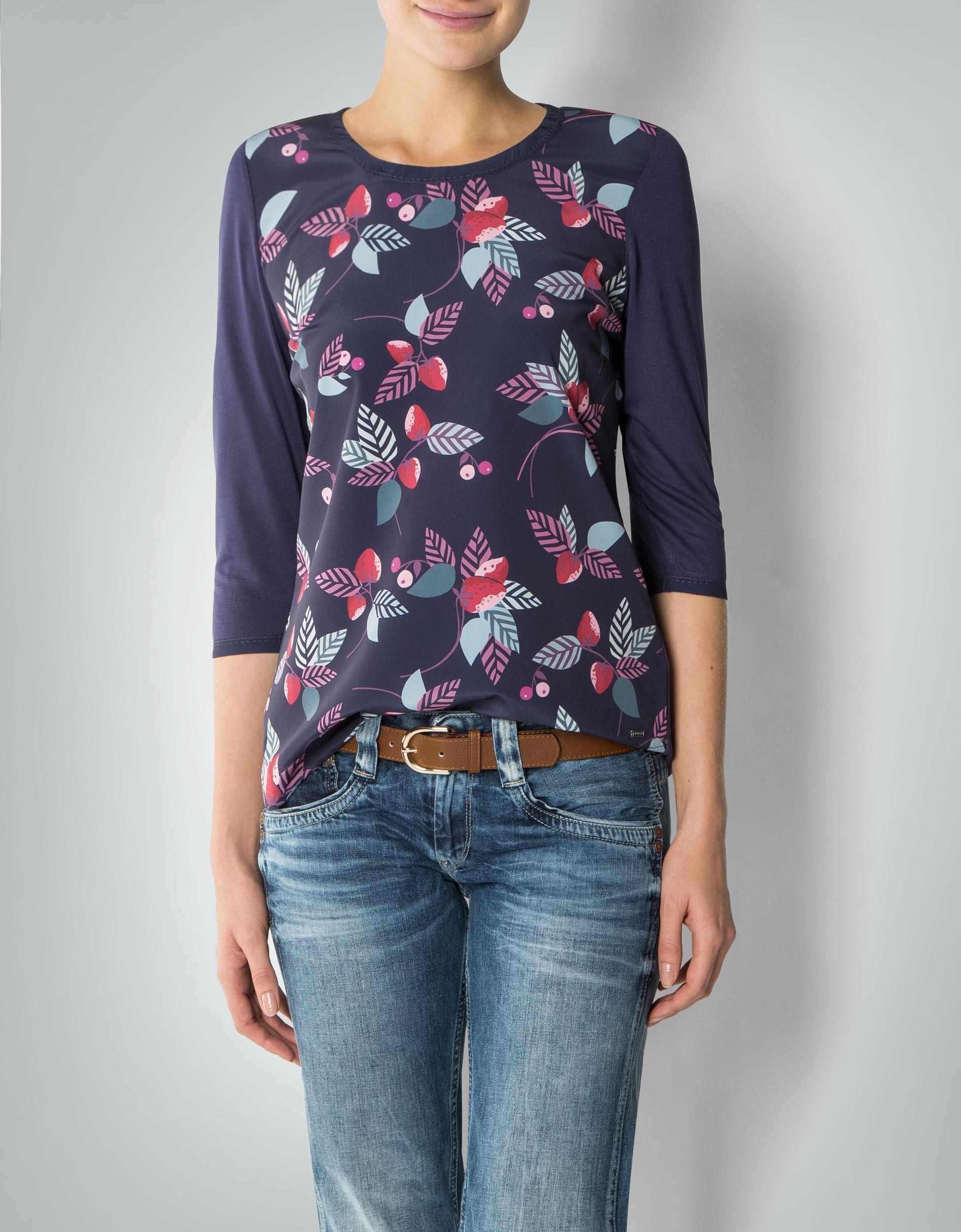 tommy hilfiger damen bluse shirt mit beeren print. Black Bedroom Furniture Sets. Home Design Ideas