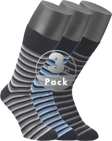 Jockey Casual Stripe Socken 3er Pack 308518/BBG