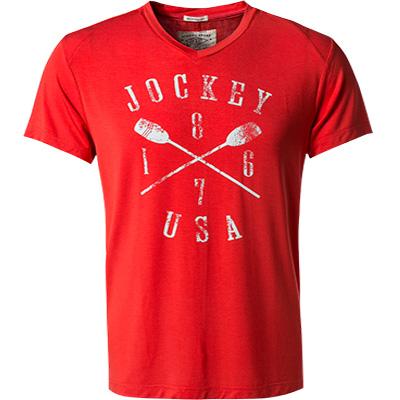 T shirt modal rot von jockey bei for Jockey t shirts sale