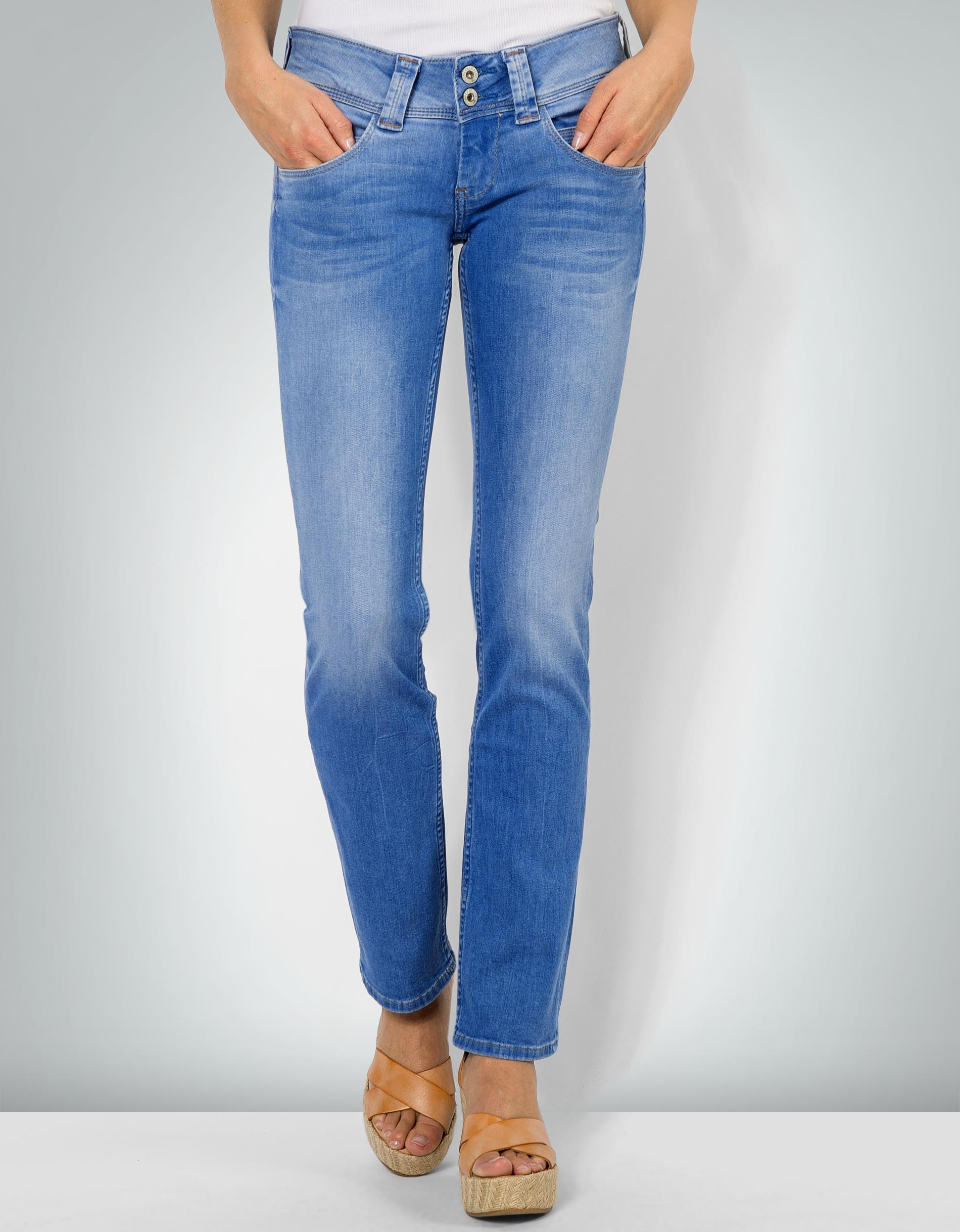 843c6473b826 Pepe Jeans Damen Venus denim Jeans mit niedrigem Bund empfohlen von Deinen  Schwestern
