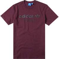 adidas ORIGINALS T-Shirt maroon