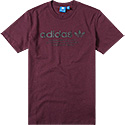 adidas ORIGINALS T-Shirt maroon AZ1613