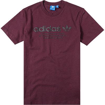 adidas ORIGINALS T-Shirt maroon