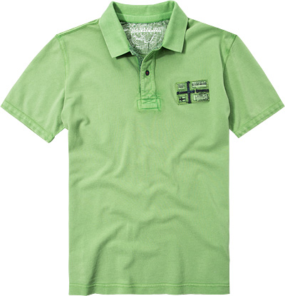 NAPAPIJRI Polo-Shirt green tea N0YFXXGB1