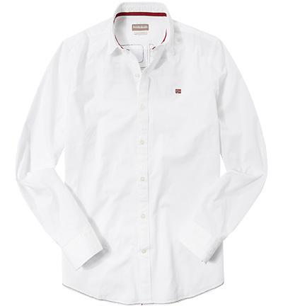 NAPAPIJRI Hemd bright white N0YFXM002 Sale Angebote Tettau