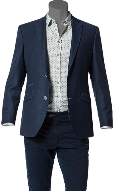 roy robson blazer in blau. Black Bedroom Furniture Sets. Home Design Ideas