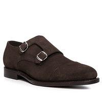 Prime Shoes Monk Suede-PSD/testa di moro