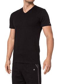 bugatti V-Shirt schwarz