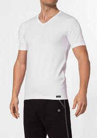bugatti V-Shirt weiß