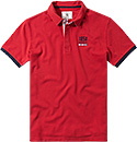 Aigle Polo-Shirt rouge G1855
