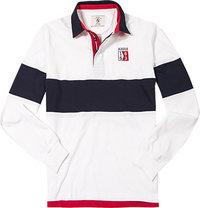 Aigle Rugby-Shirt offwhite