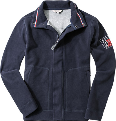 Aigle Fleece-Jacke dark navy G0901