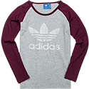 adidas ORIGINALS T-Shirt medirum grey AY8250