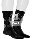Kunert Men Andrew Socken 3er Pack 871100/0070