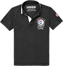 NAPAPIJRI Polo-Shirt black N0YG7S041