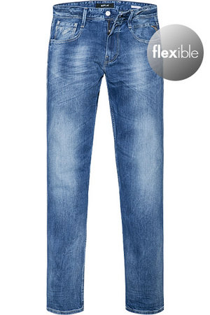 replay jeans waitom in grau. Black Bedroom Furniture Sets. Home Design Ideas