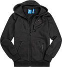 adidas ORIGINALS Sweatjacke black BK5897