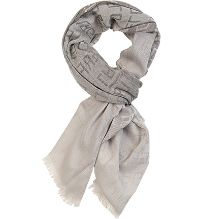 LAGERFELD Schal : LAGERFELD Schal  Herren in grau