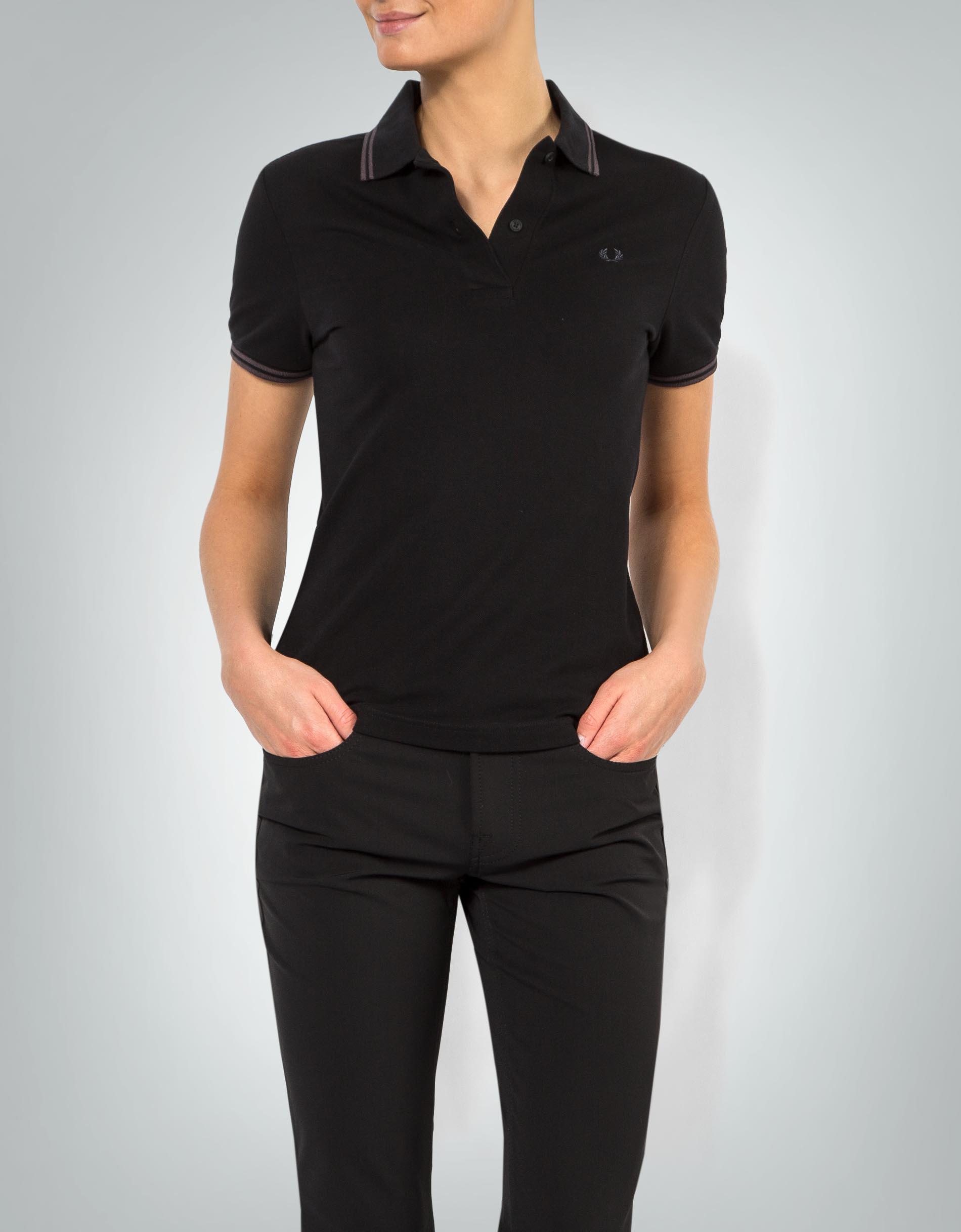 fred perry damen polo shirt mit kontrastdetails empfohlen. Black Bedroom Furniture Sets. Home Design Ideas