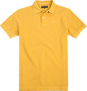 Barbour Washed Polo-Shirt mustard MML0652YE71