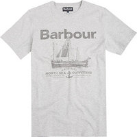 Barbour T-Shirt Sailboat light grey MTS0291GY31