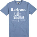 Barbour T-Shirt Sailboat blue MTS0291BL29