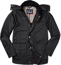 Barbour Jacke Dulwich Wax navy MWX1172NY92