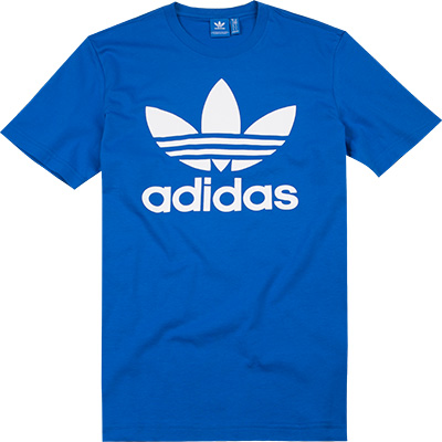 adidas ORIGINALS T-Shirt blue BK7161