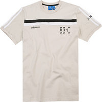 adidas ORIGINALS T-Shirt clear brown