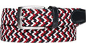 Alberto Gürtel Multicolor Braided 01008331/831
