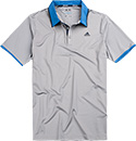 adidas Golf Polo-Shirt grey BC5399