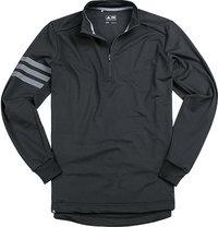 adidas Golf Zip-Shirt black