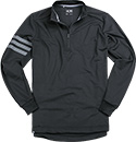 adidas Golf Zip-Shirt black BC1135