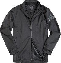 adidas Golf Zip-Jacke schwarz